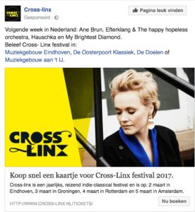Cross-Linx Facebook Ad